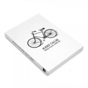 Σημειωματάριο MakeNotes Bike A6 160 φύλλα - Άσπρο