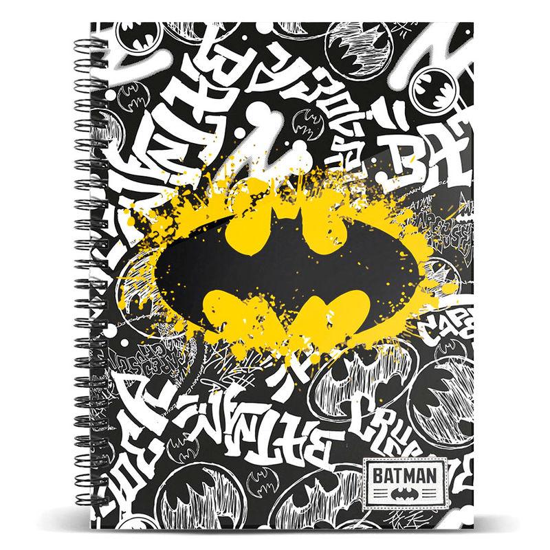Τετράδιο Σπιράλ με Σκληρό Εξώφυλλο DC Comics Batman A5