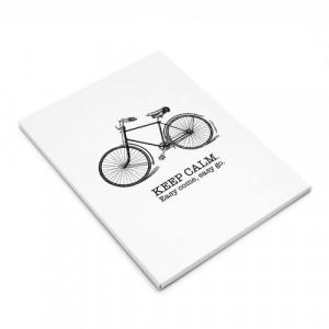Σημειωματάριο MakeNotes Bike A5 80 φύλλα - Άσπρο
