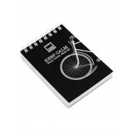 Σημειωματάριο MakeNotes Spiral Bike A7 - Μαύρο