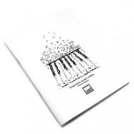 Σημειωματάριο MakeNotes Music A4 40 φύλλα - Άσπρο