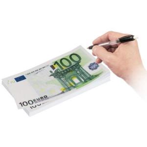 Σημειωματάριο Χαρτονομίσματα 100 Euros (Μεγάλο)