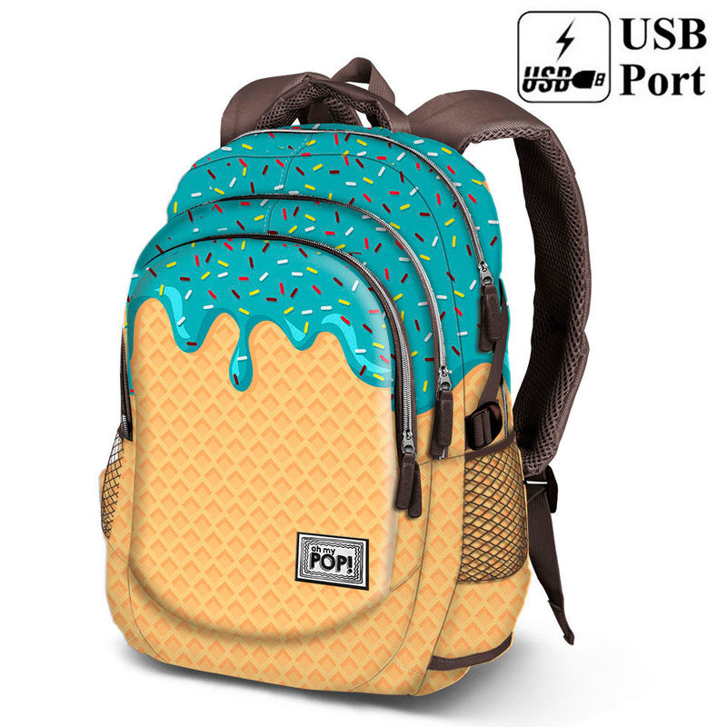 29c98fb03fc Σχολική τσάντα backpack Oh My Pop Ice Cream 44cm | mygad.gr