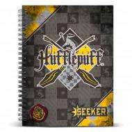 Τετράδιο Σπιράλ με Σκληρό Εξώφυλλο Quidditch αδελφότητα  Hufflepuff A5