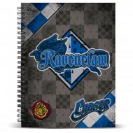 Τετράδιο Σπιράλ με Σκληρό Εξώφυλλο Quidditch αδελφότητα  Ravenclaw A4
