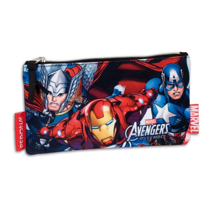 Σχολική Κασετίνα-Τσαντάκι Marvel Avengers Perona
