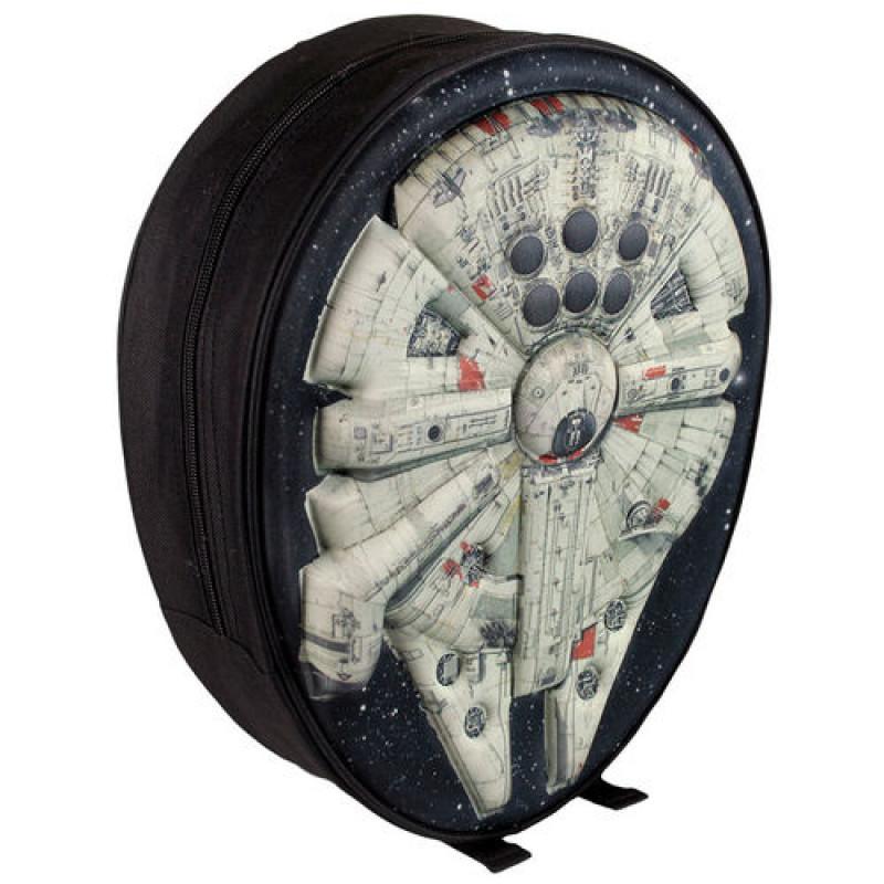 dca8b59696 Σχολική Τσάντα Backpack Cerda Star Wars Millenium Falcon 3D EVA ...