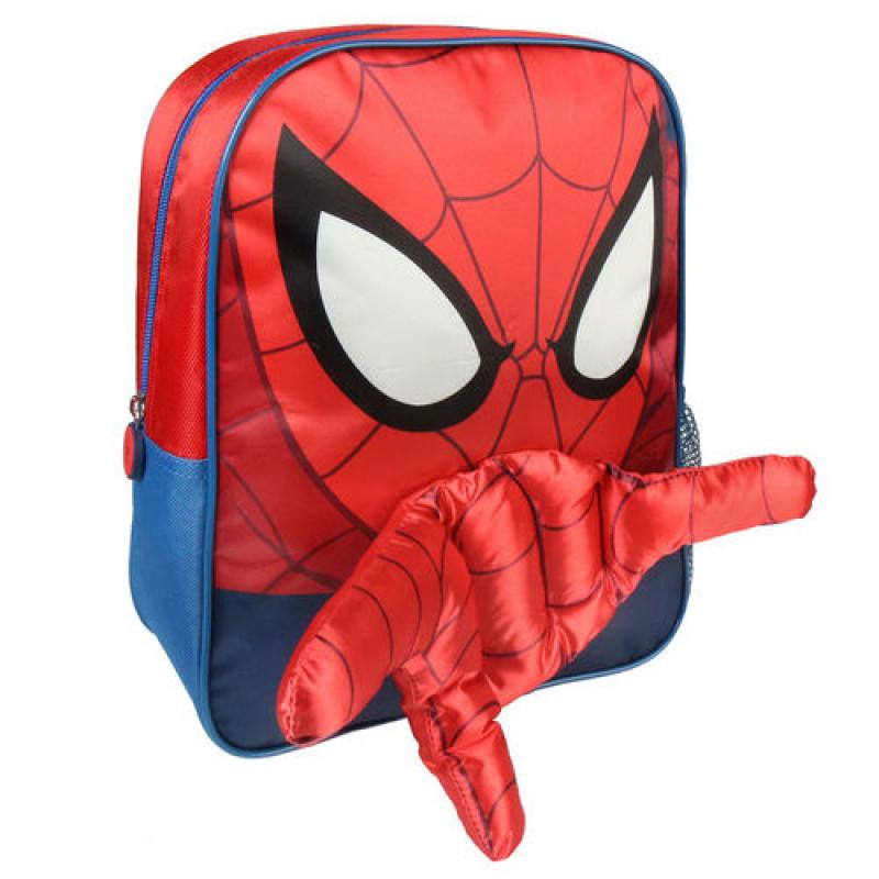 642b72327a Σχολική Τσάντα Backpack Cerda Marvel Spiderman hand 3D 31cm