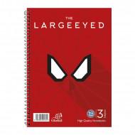 Τετράδιο Σπιράλ με Σκληρό Εξώφυλλο Global Super Heros The Large Eyed