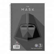 Τετράδιο Σπιράλ με Σκληρό Εξώφυλλο Global Super Heros The Mask