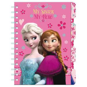 Σημειωματάριο με σελιδοδείκτες και λογότυπο Frozen