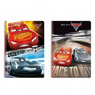 Τετράδιο σπιράλ με σκληρό εξώφυλλο Disney Cars A4