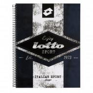 Τετράδιο σπιράλ με σκληρό εξώφυλλο Lotto A4