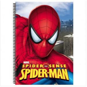 Τετράδιο Σπιράλ με Σκληρό Εξώφυλλο με λογότυπο Spiderman Marvel A4