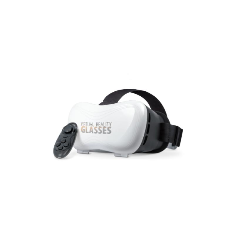f9b90c8ed2 3D VR Headset Forever VRB-100 με Bluetooth Τηλεχειριστήριο - Μαύρο Άσπρο