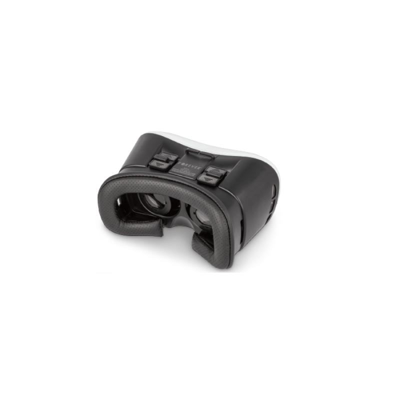 3D VR Headset Forever VRB-100 με Bluetooth Τηλεχειριστήριο - Μαύρο/Άσπρο
