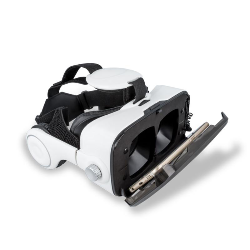 3D VR Headset Forever VRB-200 με Ακουστικά - Μαύρο/Άσπρο