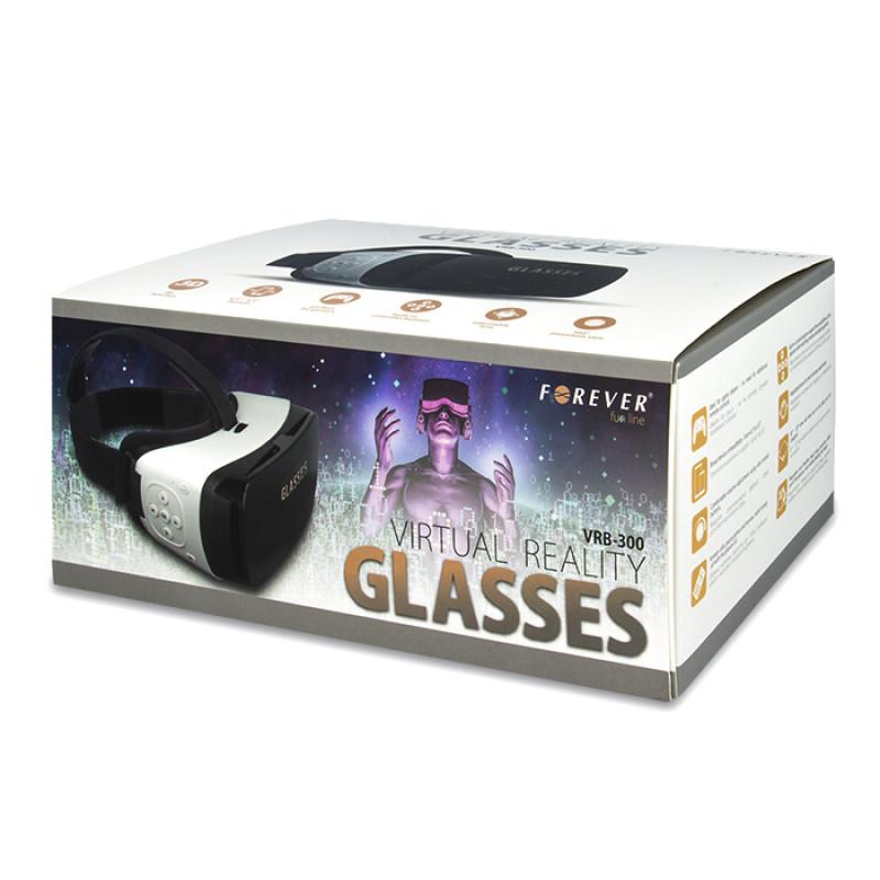 3D VR Headset Forever VRB-300 - Μαύρο/Άσπρο